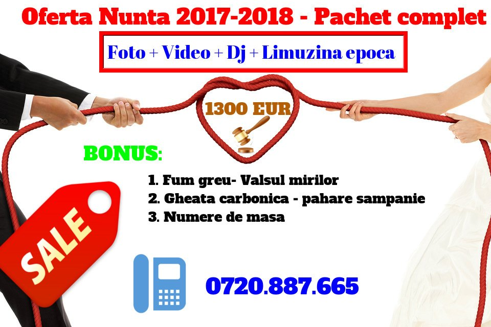 oferta nunta 2017-2018