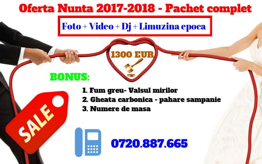 PROMOTIE 2017 CASA DE EVENIMENTE